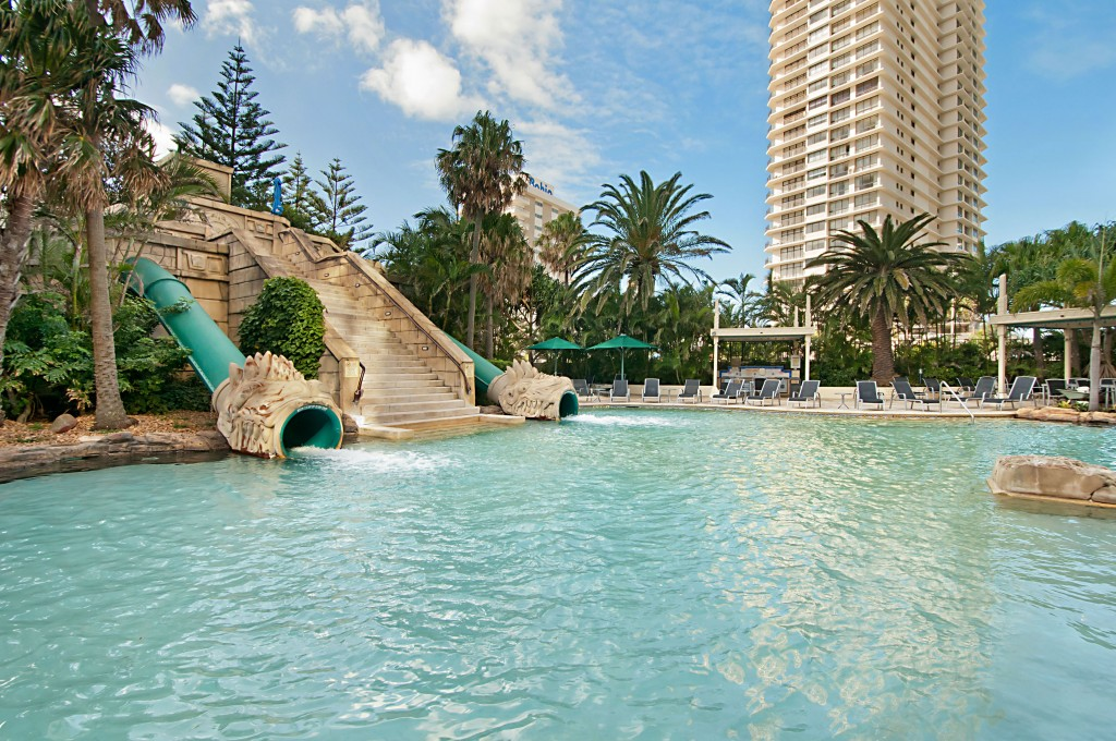 Lagoon pool gold coast holiday stays for Pool design gold coast