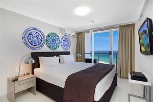 Peninsula Apartments - 19B Master Bedroom